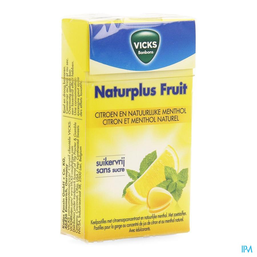 Vicks Citroen en natuurlijke menthol (40 g)