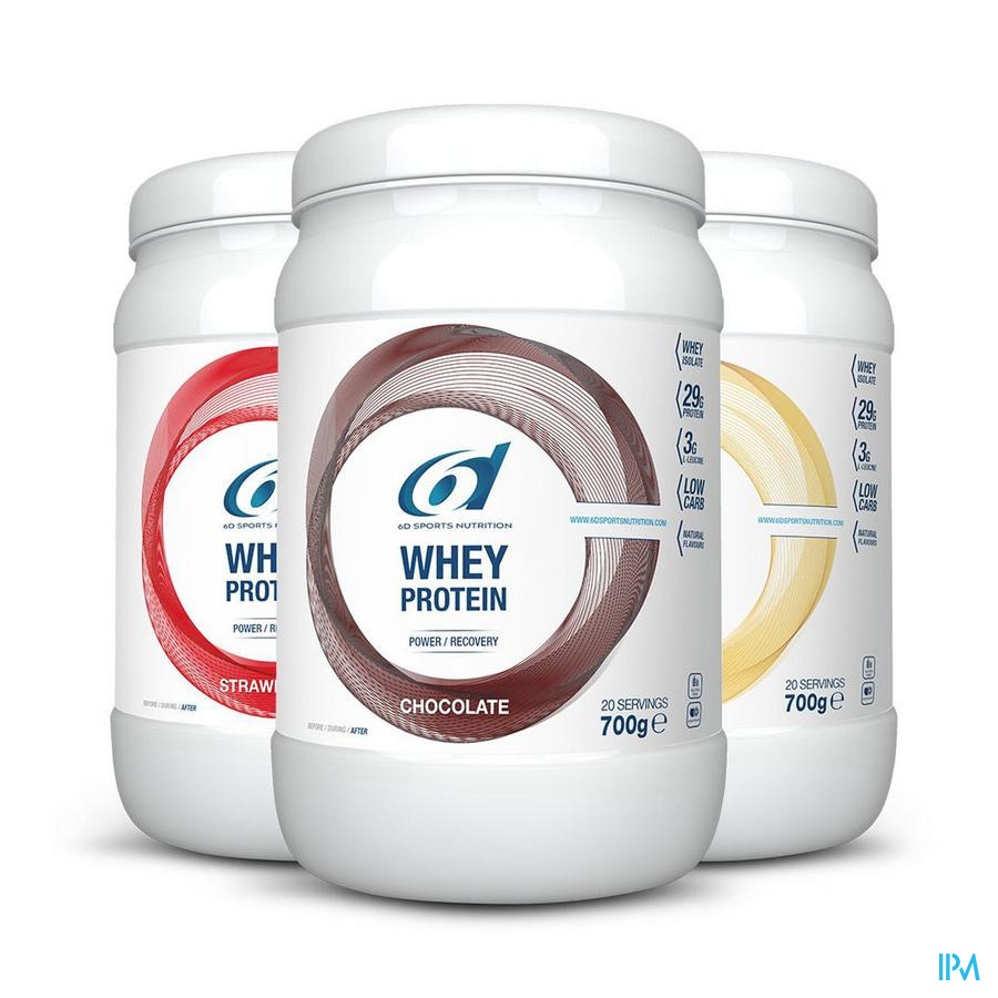 6d Sixd Whey Protein Chocolate 700g