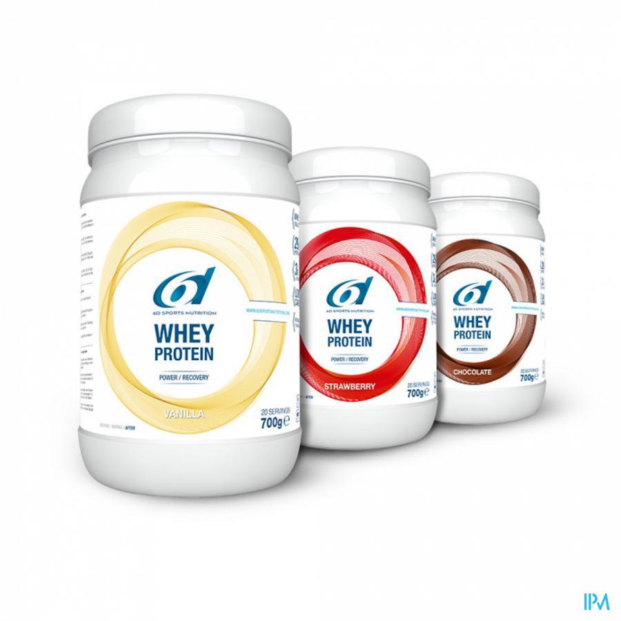 6d Sixd Whey Protein Vanilla 700g