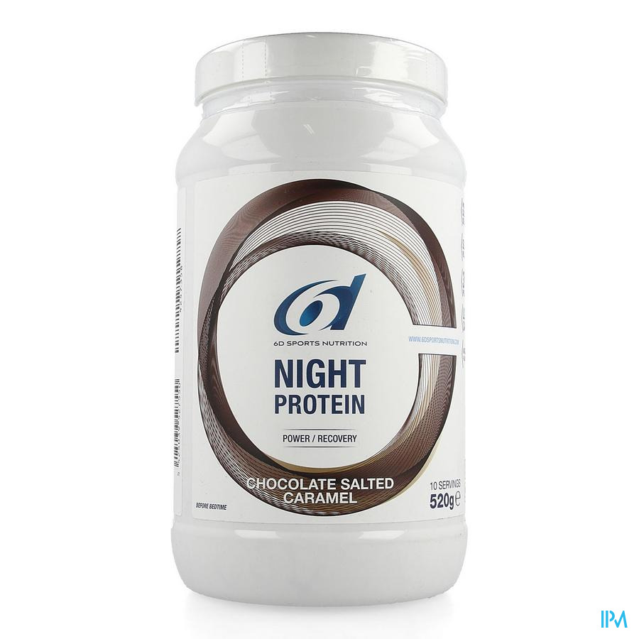 6d Sixd Night Protein Chocolate Salted Caramel 520g