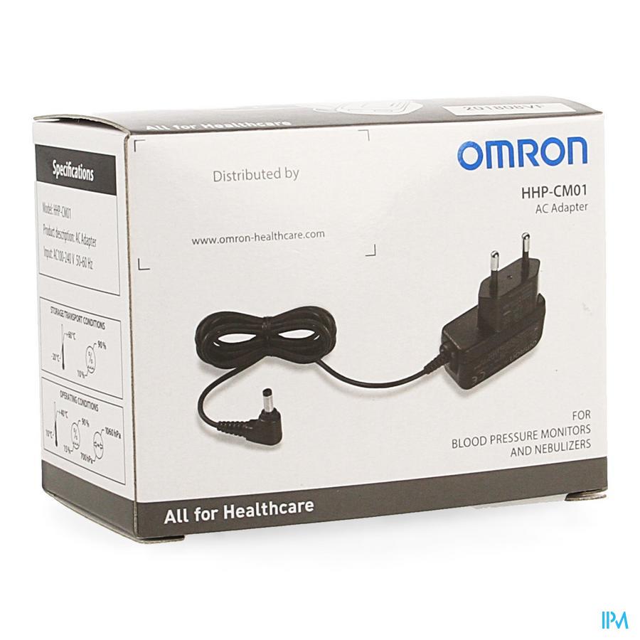 Omron Adapter voor bloeddrukmeters en nebulisators