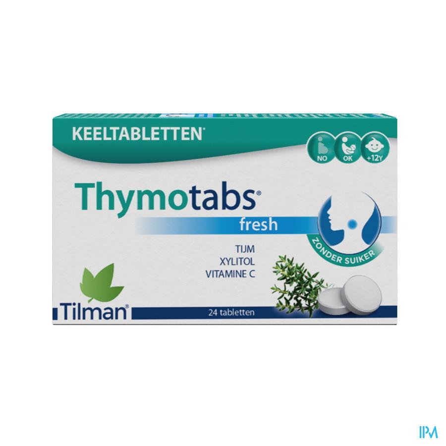 Thymotabs Fresh zuigtabletten (24)