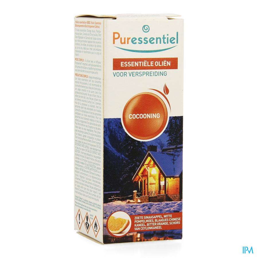 Puressentiel essentiële voor verspreiding cocooning (30ml)