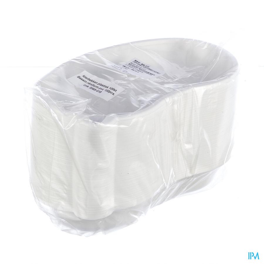 Nierbekken plastic (100 stuks)