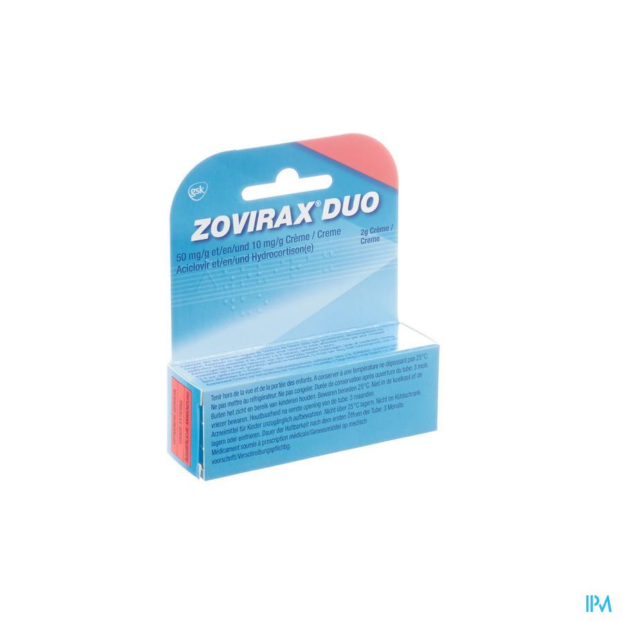 Zovirax Duo Koortsblaasjes