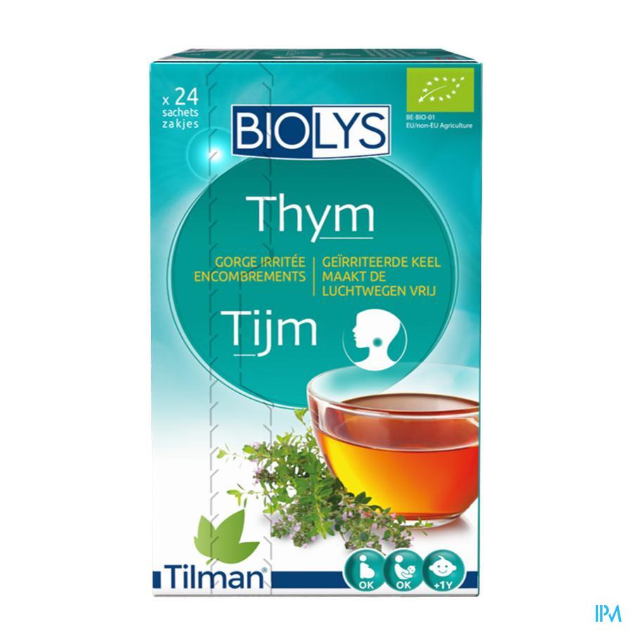 Biolys Tijm (24 zakjes)