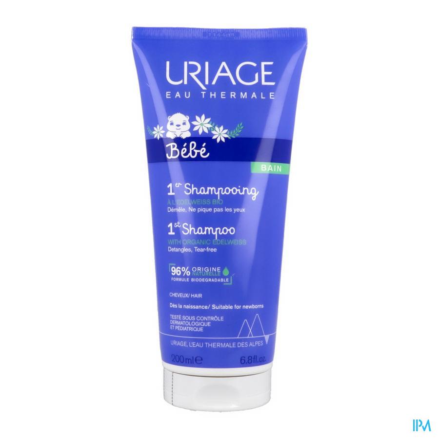Uriage Baby Shampoo Extra Zacht Zonder zeep (200ml)