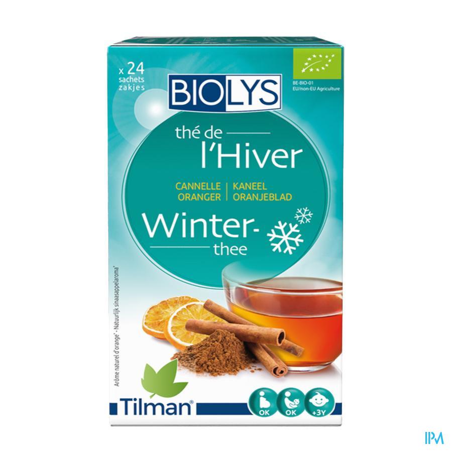 Biolys winterthee (24 zakjes)