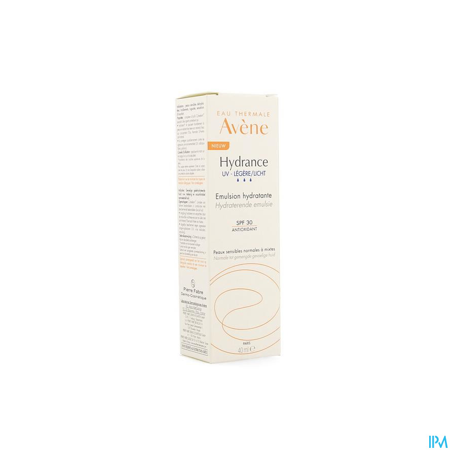 Avene Hydrance Optimale UV Licht 40 ml
