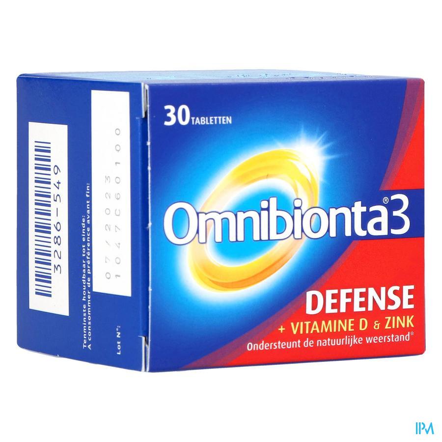 Omnibionta-3 Defense 30 tabletten