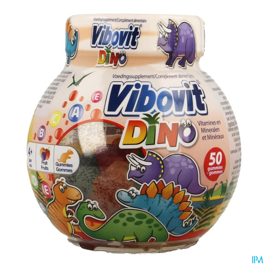 Vibovit Dino Gummies (50 stuks)