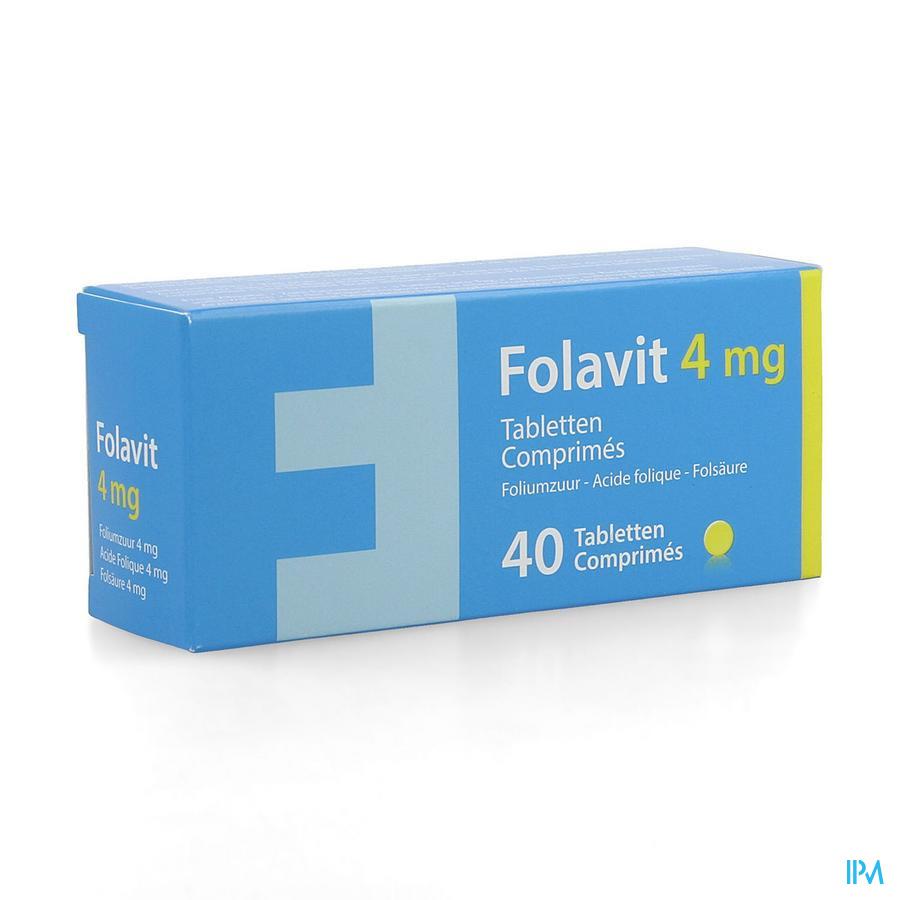 Folavit 4,0mg 40tabletten