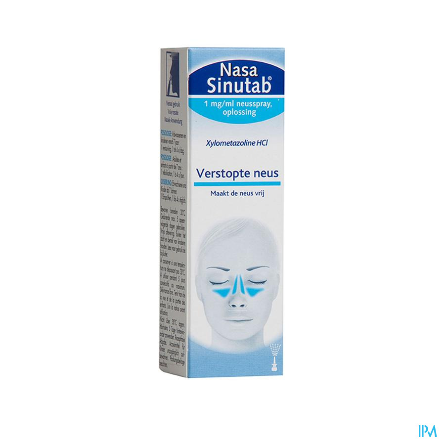 Nasa sinutab spray