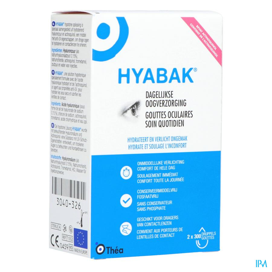 Hyabak Duopack (2x10ml)