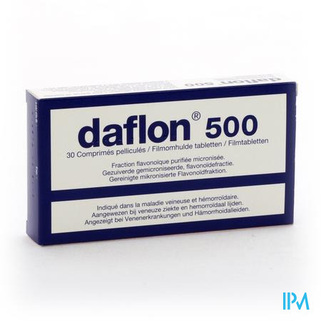 Daflon 500mg (30 tabletten)