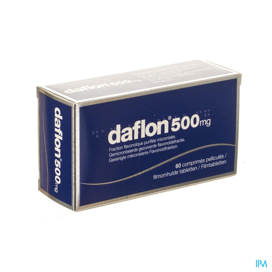 Daflon 500mg  (60 tabletten)