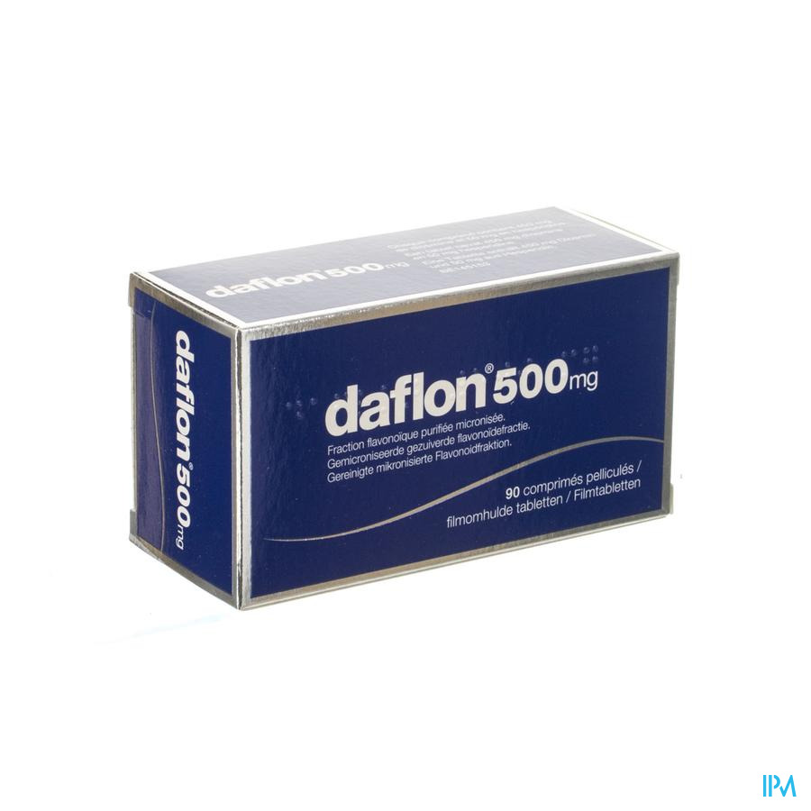 Daflon 500mg  (90 tabletten)