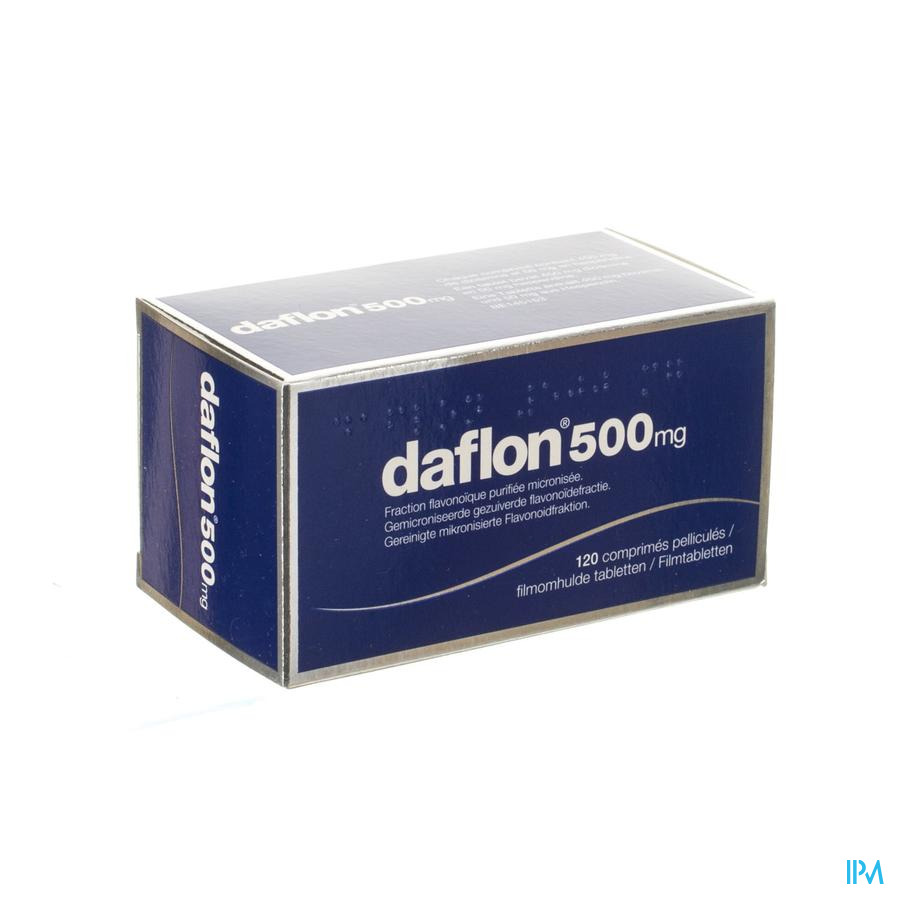Daflon 500mg (120 tabletten)