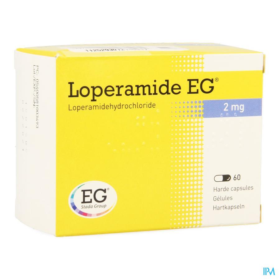 Loperamide EG / 60 capsules