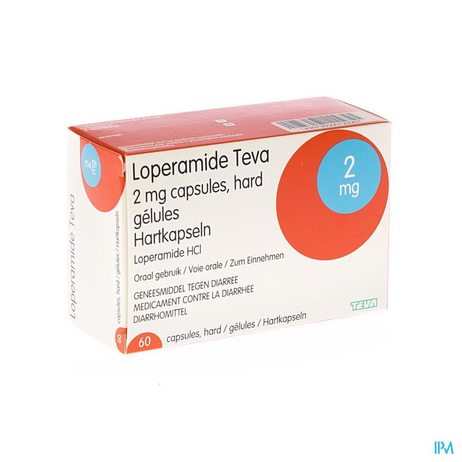 Loperamide Teva / 60 capsules