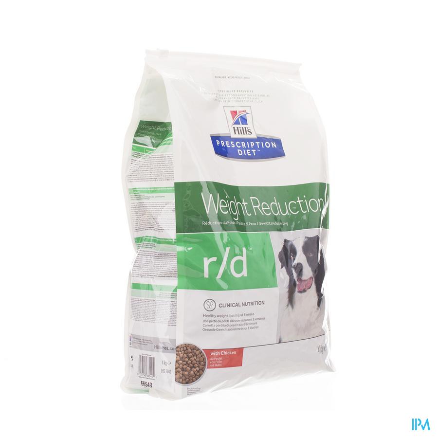 HILLS Hond Diabetes r/d / 4 kg