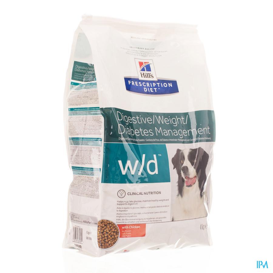 HILLS Hond Diabetes w/d / 4 kg