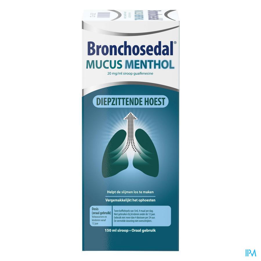 Bronchosedal mucus menthol