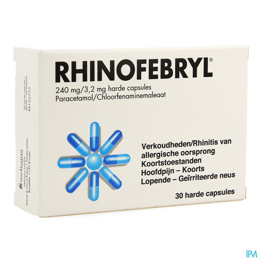 Rhinofebryl capsulen (30)