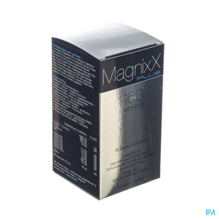 MagnixX Plus / 160 tabletten