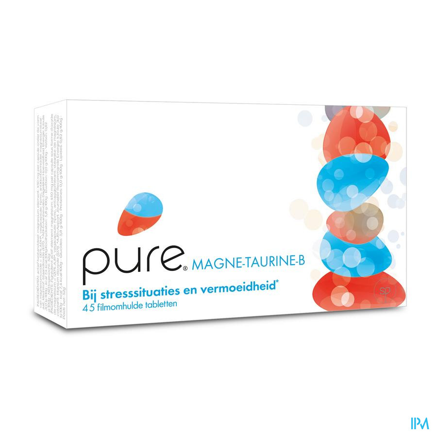 Pure Magne-Taurine-B / 45 tabletten