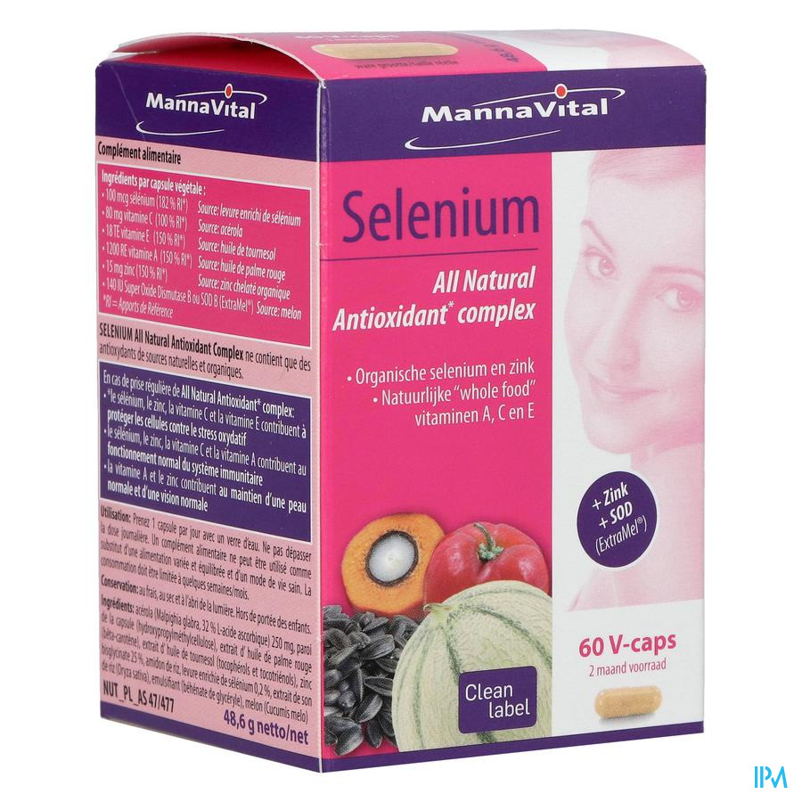 MannaVital Selenium NF