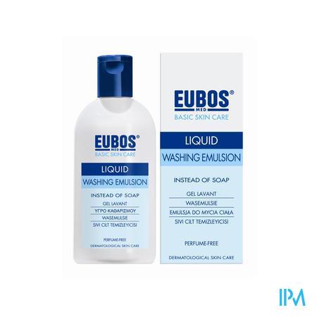Eubos Vloeibare Zeep blauw / 200 ml