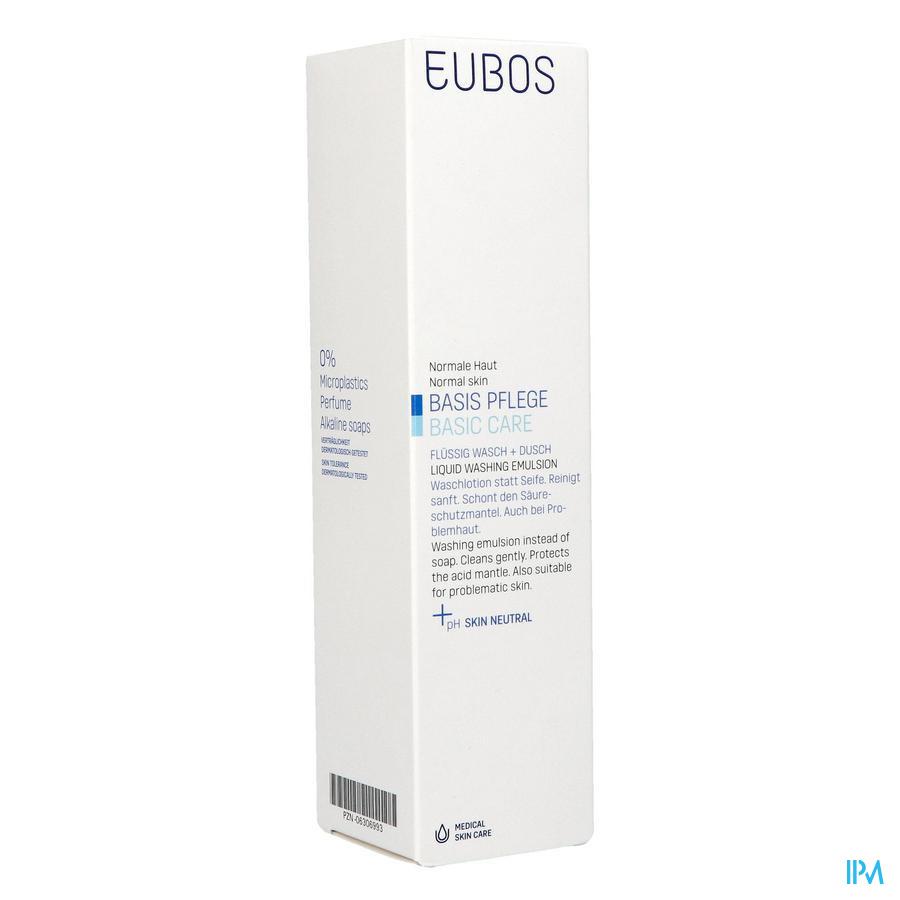 Eubos Vloeibare Zeep blauw / 400 ml