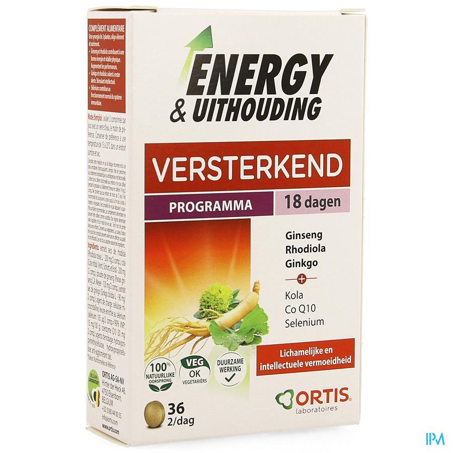 Energy & Uithouding