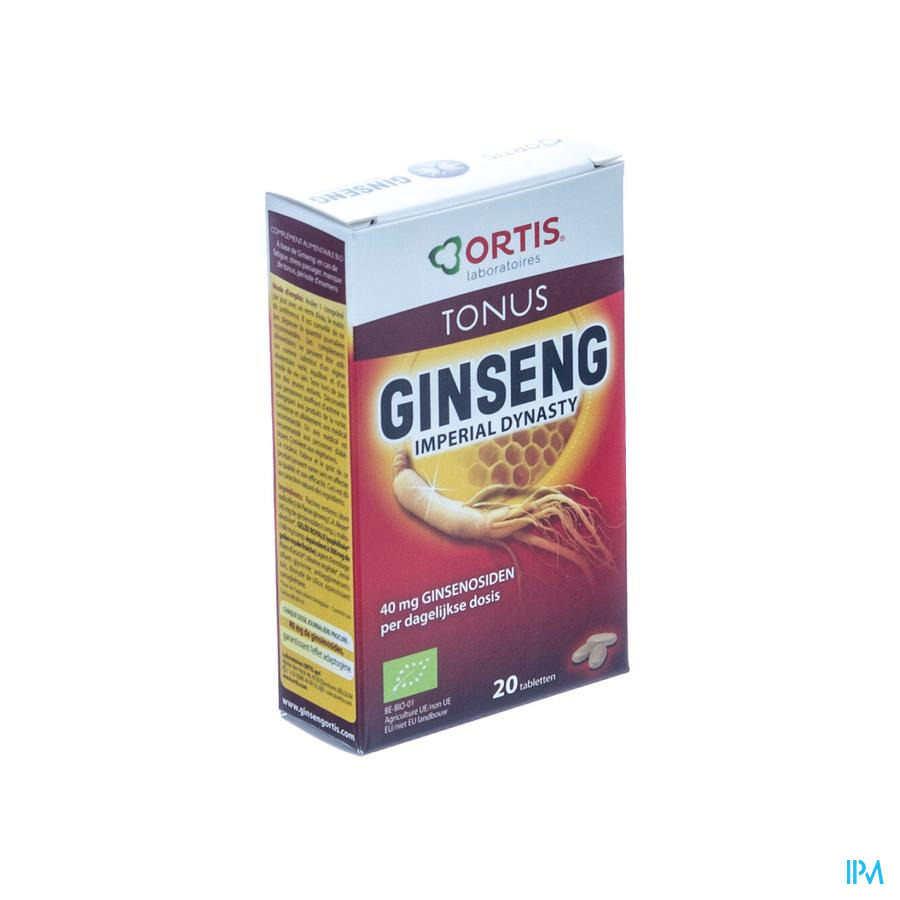 Ortis Ginseng Imperial Dynasty (met alcohol)