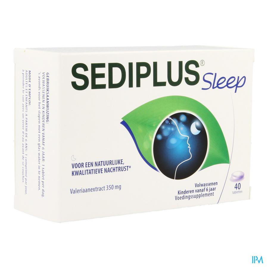 Sediplus sleep comp (40 tabletten)