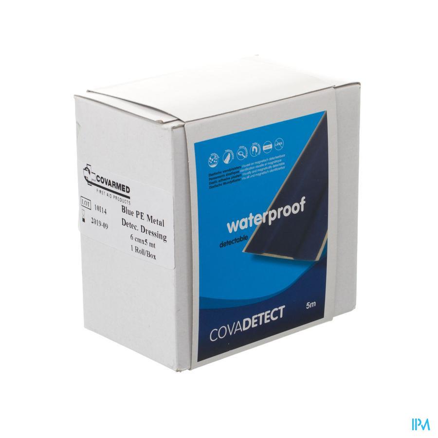Cova Detect blauw waterproof ROL / 6cm x 5m