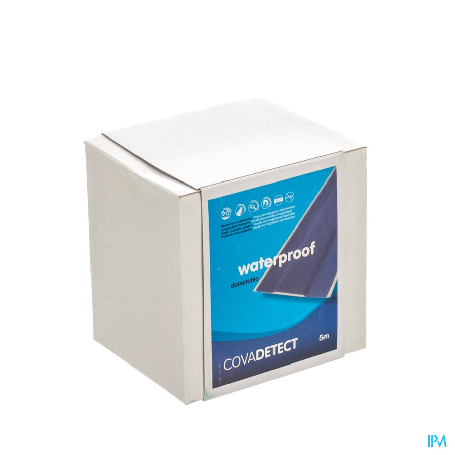 Cova Detect blauw waterproof ROL / 8cm x 5m