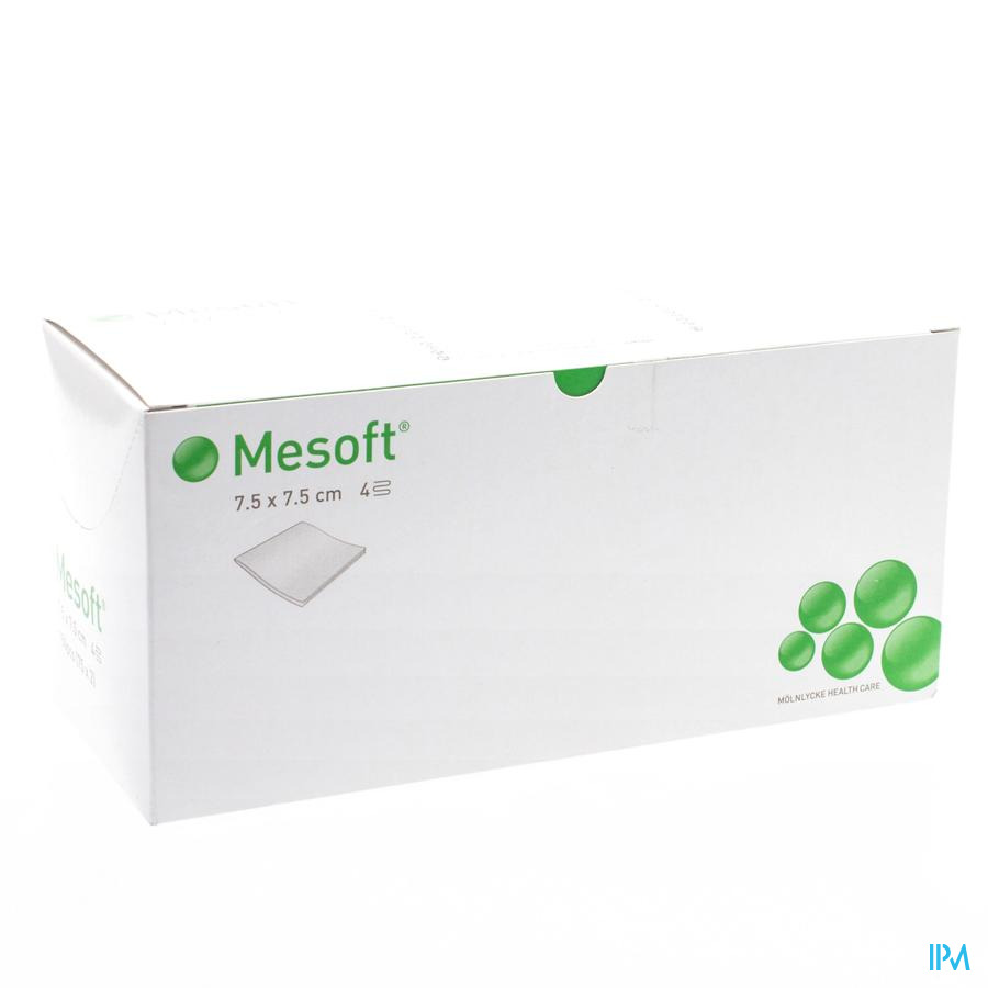 Mesoft (per 2 verpakt) 7,5x7,5cm