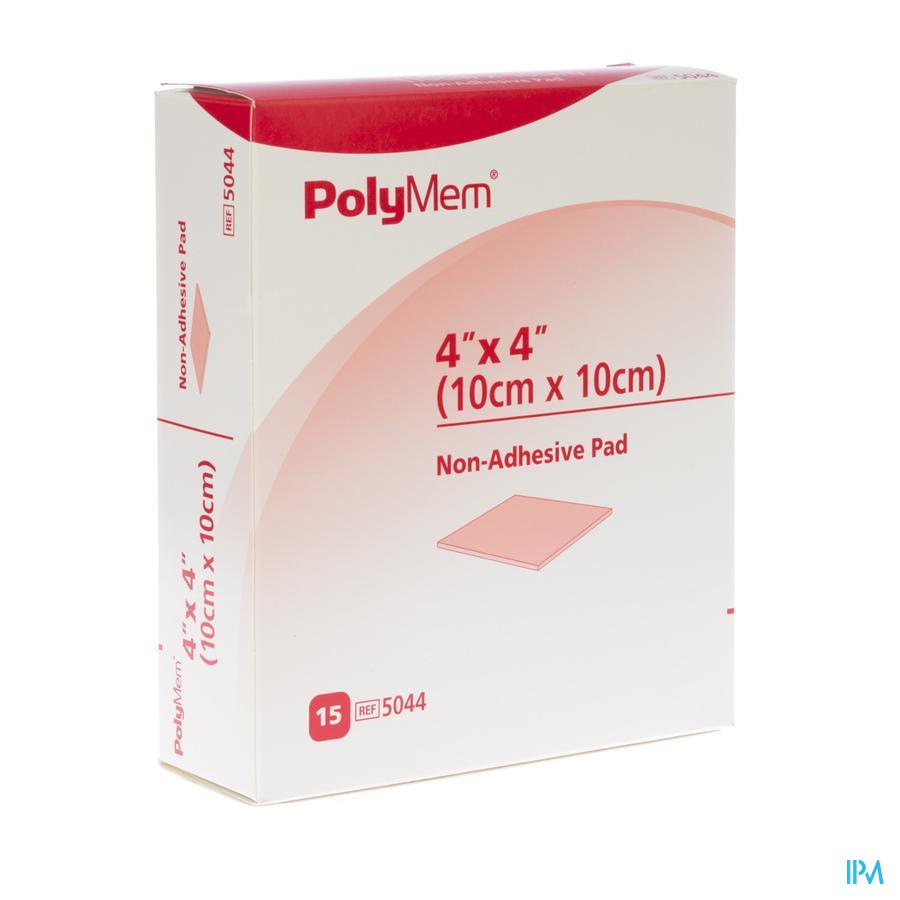 Polymem Quadrafoam niet-klevend 10,1cm x 10,1cm (15 stuks)