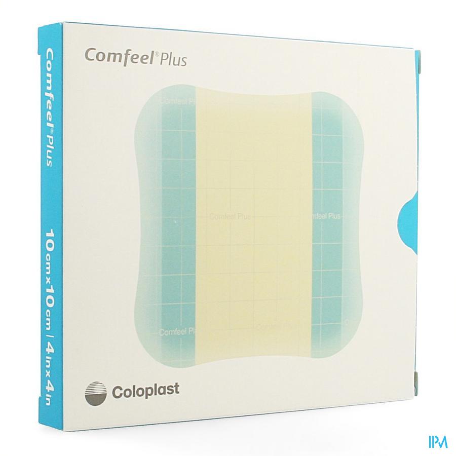 Comfeel Plus wondverband / 10x10cm (3 stuks)