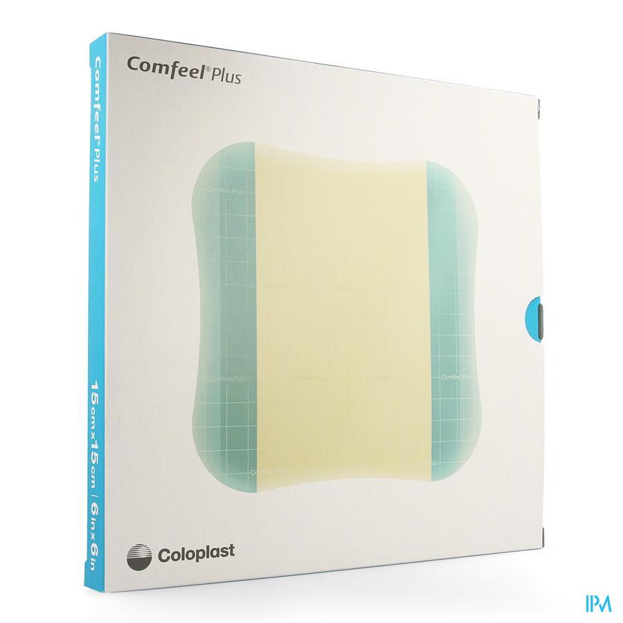 Comfeel Plus wondverband / 15x15cm (5stuks)