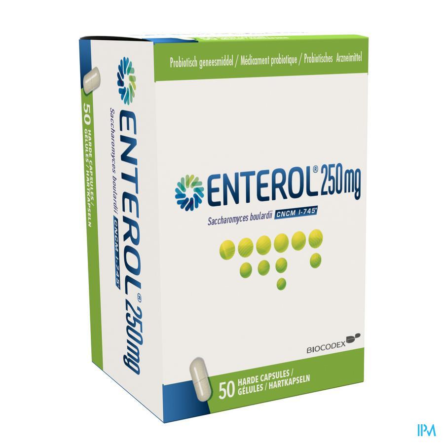 Enterol / 50 capsules