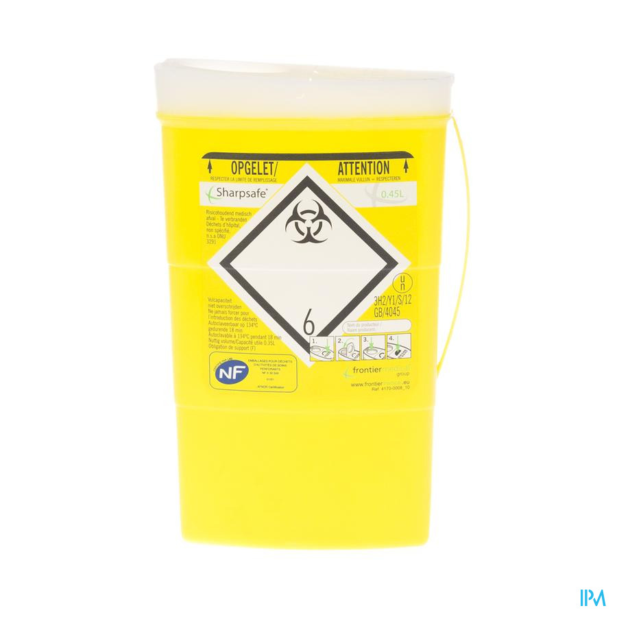 Naaldcontainer Sharpsafe / 0,45L