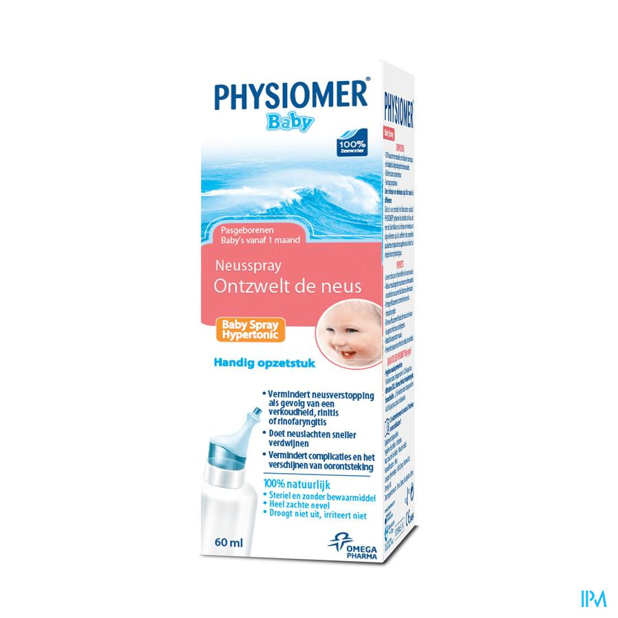 Physiomer Baby hypertonisch spray 60ml