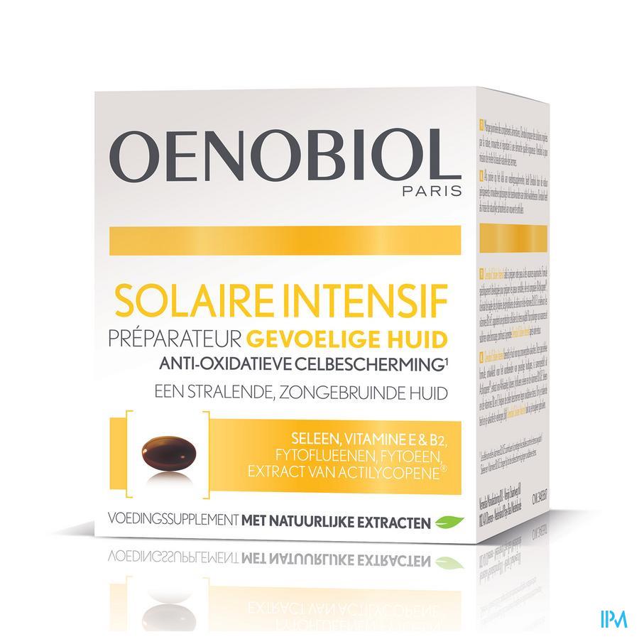 OENOBIOL Solaire Intensive Lichte huid (30 Caps)