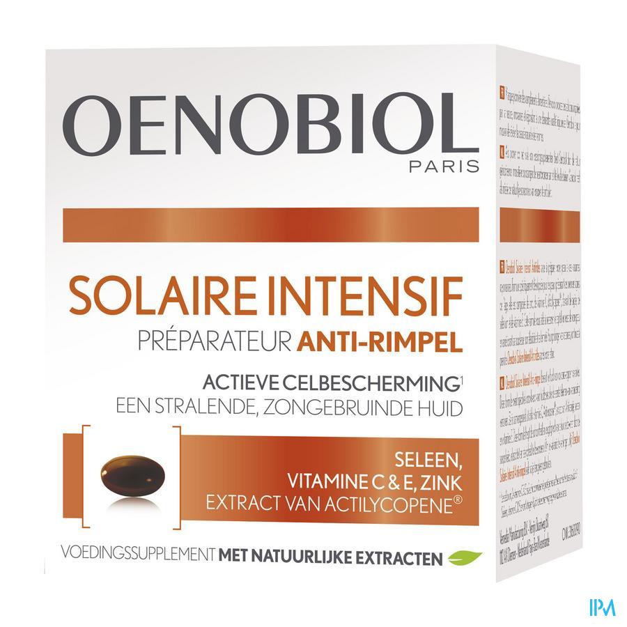 OENOBIOL Solaire Intensive Anti-rimpel (30 Caps)