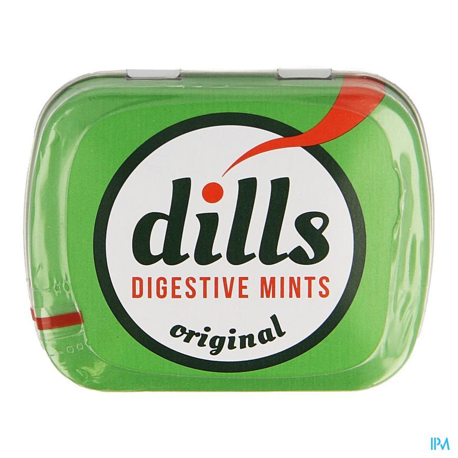 Dills digestive mints Original 150 tabletten