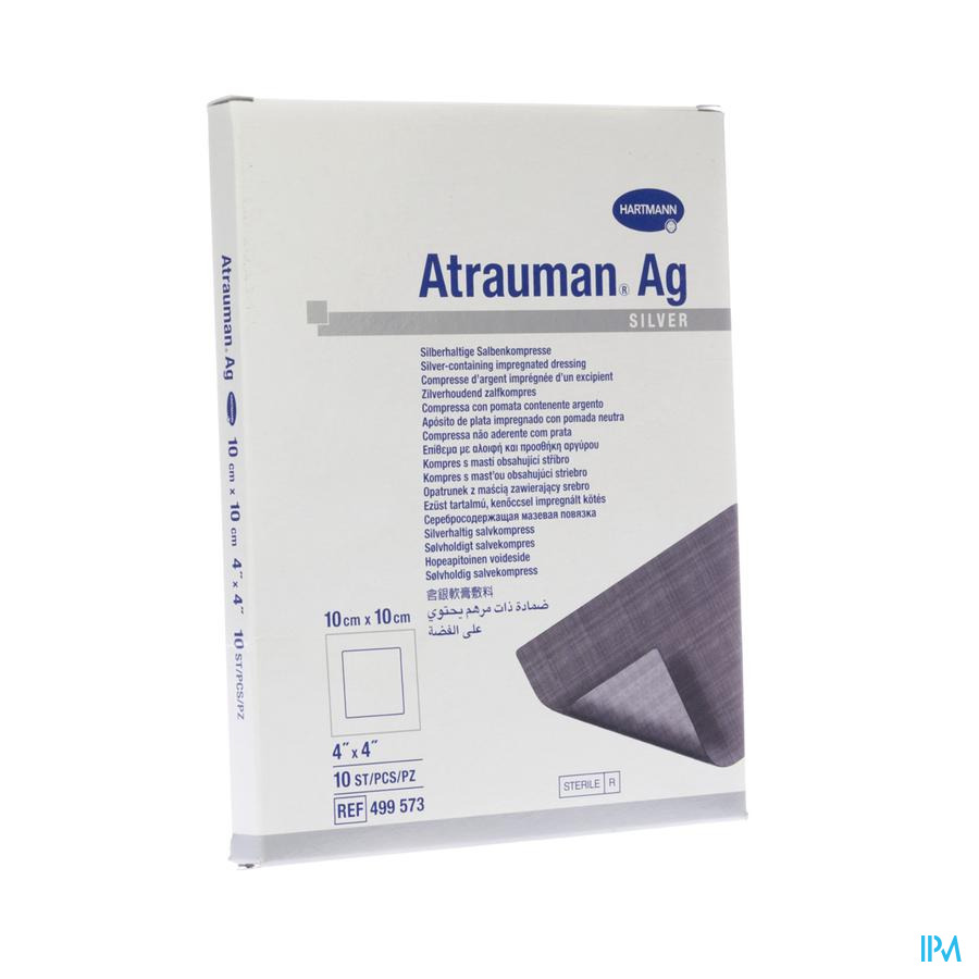 Atrauman Ag / 10x10 / 10 stuks