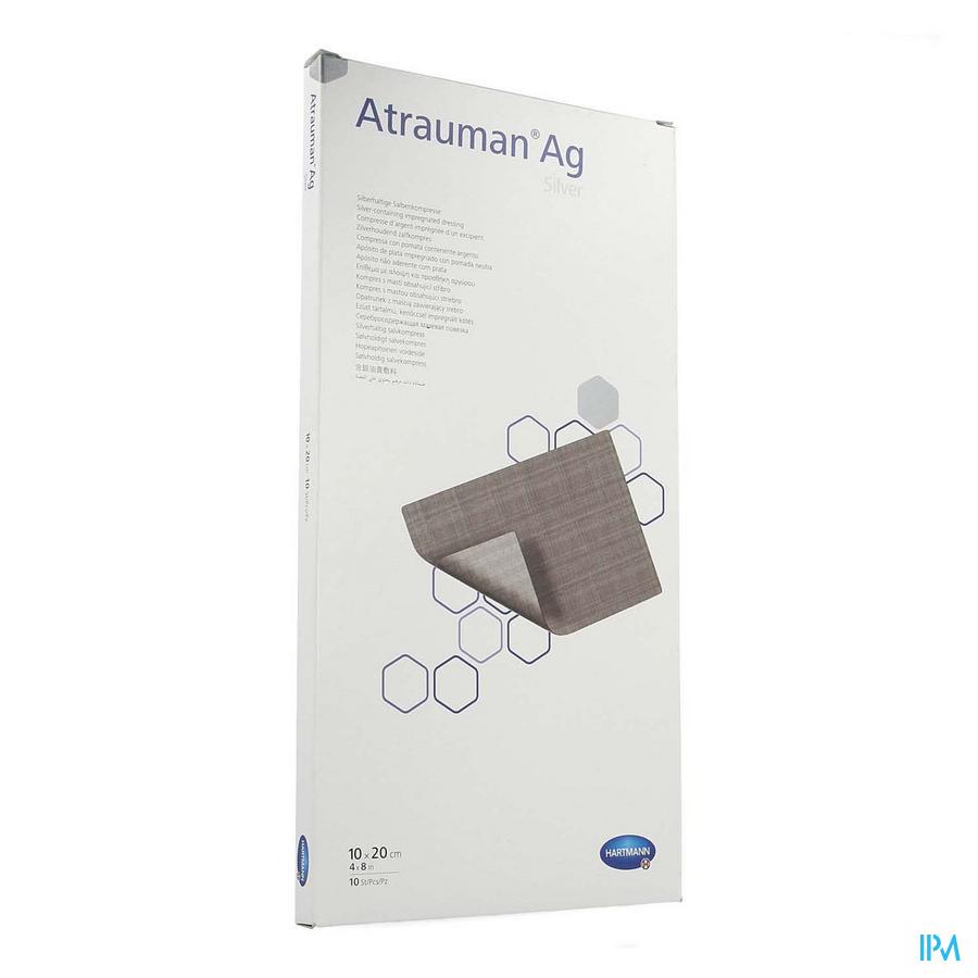 Atrauman Ag / 10x20 / 10 stuks